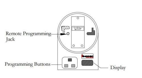 Dụng cụ lập trình địa chỉ cho thiết bị báo cháy Hochiki TCH-B100