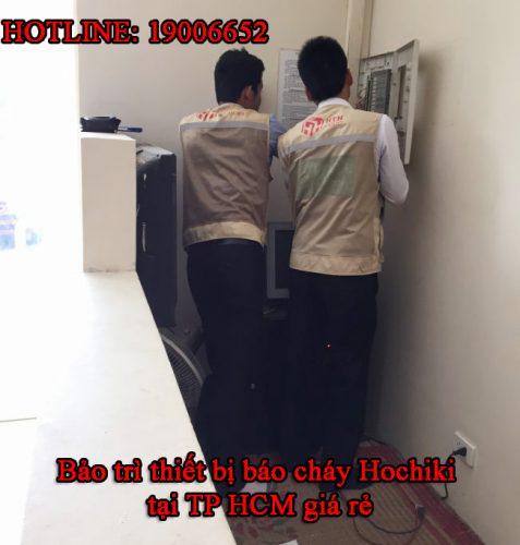 Bảo trì thiết bị báo cháy Hochiki tại TP HCM giá rẻ - Công ty Cổ Phần & Hochiki Việt Nam - 19006652