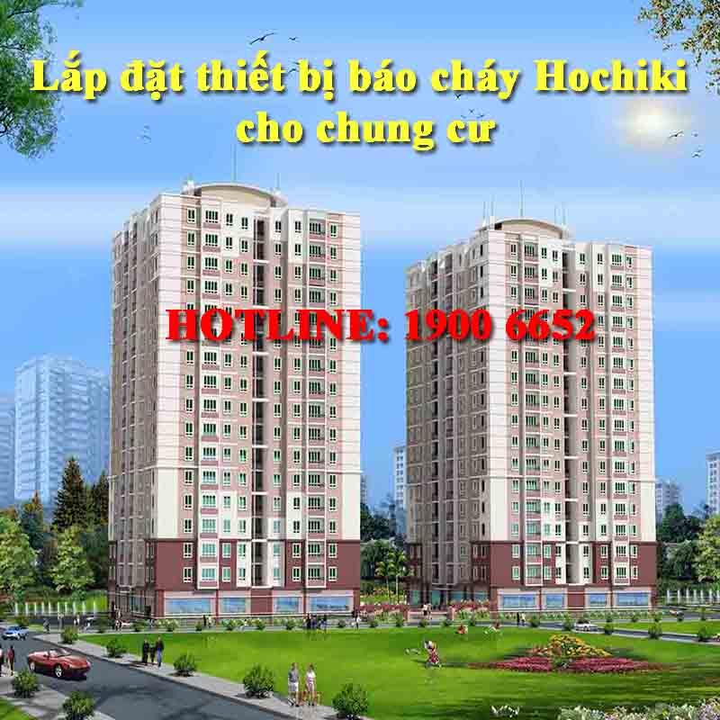 Lắp đặt thiết bị báo cháy Hochiki cho chung cư