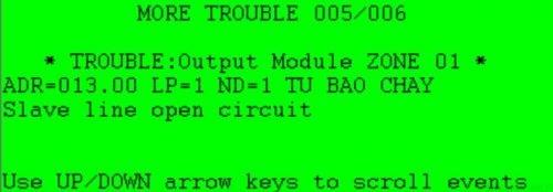Loop open circuit: hở mạch