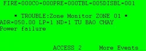 Power failure: Lỗi mất nguồn 24VDC cấp cho modul CZM, SOM, SOM-A
