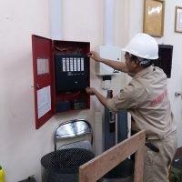 Lắp đặt báo cháy Học viện kỹ thuật quân sự Hà Nội