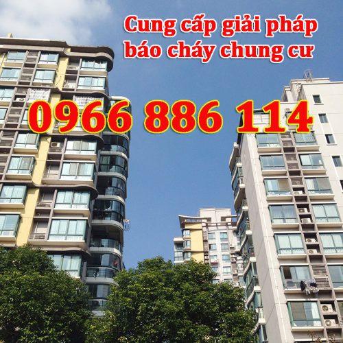 Cung cấp giải pháp báo cháy chung cư - 0966 886 114
